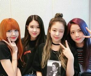 KOREANS, lisa, and jennie image