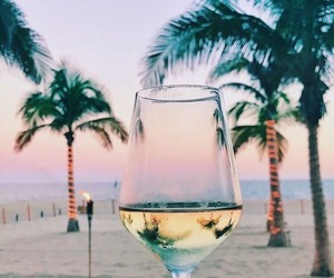 alcohol, sea, and summer image