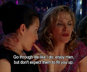 sex and the city, quotes, and samantha jones image