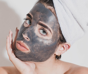 beauty, skincare, and facemask image
