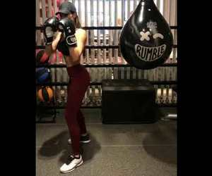 boxing, fitness, and girl image