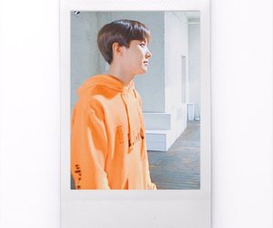 jin, polaroid, and v image