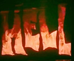 hell, Hot, and dark image
