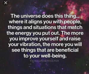 empowerment, quote, and universe image
