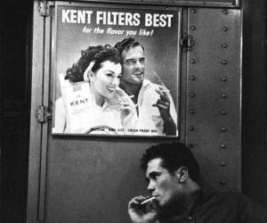 cigarette, vintage, and 50s image