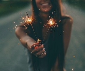 firework, girls, and photography image