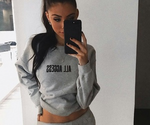 madison beer, style, and beauty image