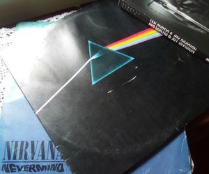dark side of the moon, david gilmour, and ian curtis image