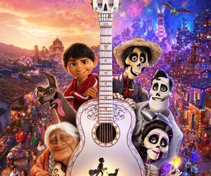 coco, day of the dead, and disney image