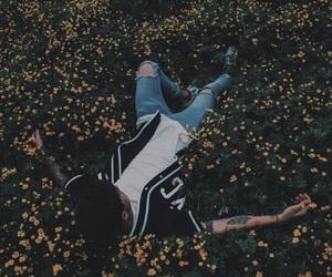 kian lawley, flowers, and boy image