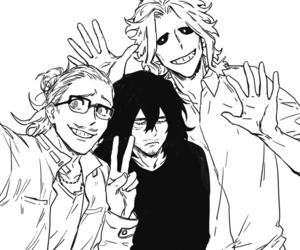 anime, boys, and drawing image