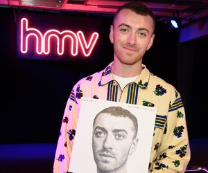 hmv, the thrill of it all, and . sam smith image