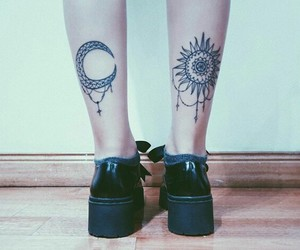 sol, tatto, and tatuaje image