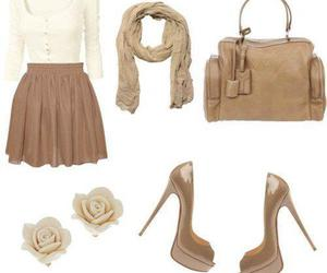 brown and white and clothes image