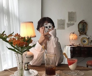 aesthetic, girl, and soft image
