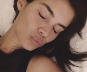 gorgeous, sleeping, and sara sampaio image