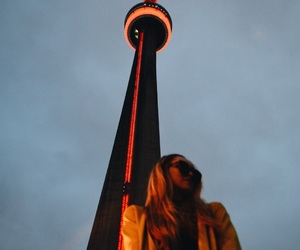 blonde, canada, and CN tower image