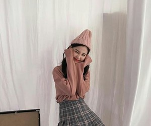 aesthetic, korean girl, and kstyle image