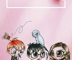 harry potter, pinky, and potter image