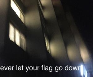 depressed, flag, and lights image