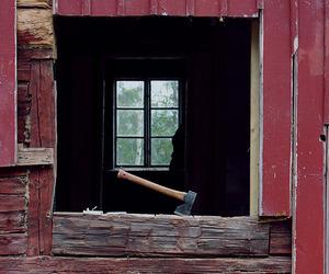 ax, barn, and farm image