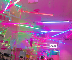 neon and cafe image