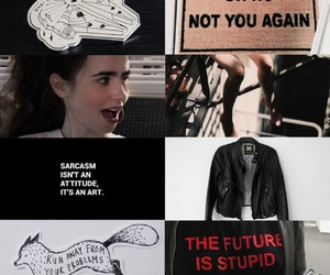 OC, teen wolf, and lily collins image