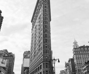 city, downtown, and flatiron building image