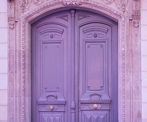 door and purple image