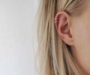 blonde and ear image