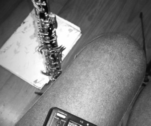 music, reeds, and study image