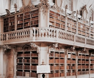 beautiful, books, and library image