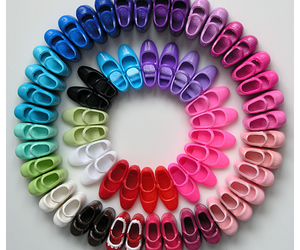 colors, barbie shoes, and doll image