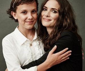 stranger things, eleven, and winona ryder image