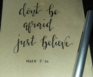 believe, calligraphy, and lettering image