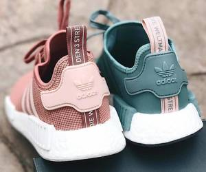 adidas, shoes, and pink image