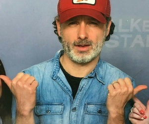 andrew lincoln, the walking dead, and rick grimes image