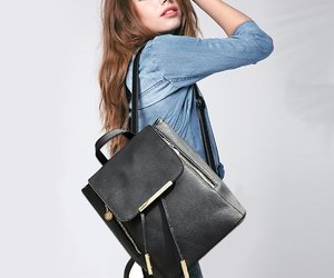 bag, girls, and hairstyles image