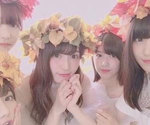 欅坂46, 渡邉理佐, and 渡辺梨加 image