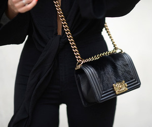 fashion, chanel, and black image