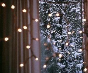 winter, light, and snow image