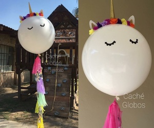 fiesta, unicorn, and globo image