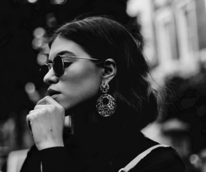 accessories, b&w, and black and white image