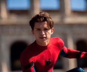 comics, film, and spider-man image