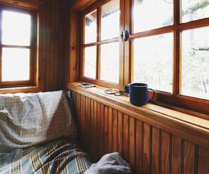 cozy, aesthetic, and cabin image