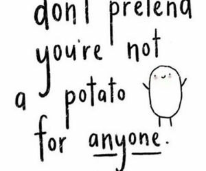 potato, quote, and dan and phil image