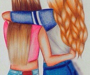 bff, friends, and forever friends image