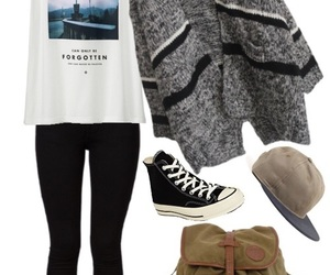 outfit, style, and skatergirl image