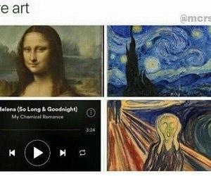 art, helena, and mona lisa image