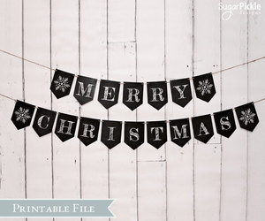 chalkboard, Christmas party, and decoration image
